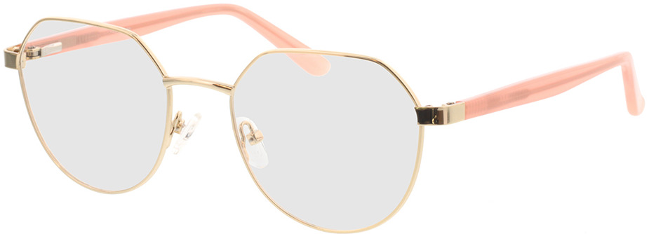 Picture of glasses model Pinto-gold/apricot in angle 330