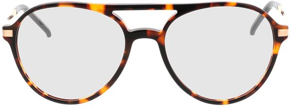 Picture of glasses model Baytown-brown-mottled-gold in angle 0
