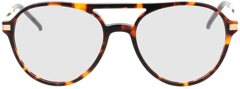 Picture of glasses model Baytown brown/mottled/gold in angle 0