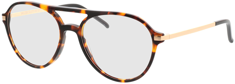 Picture of glasses model Baytown brown/mottled/gold in angle 330