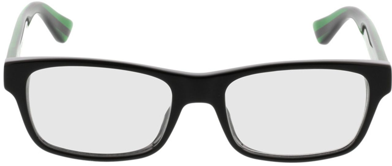 Picture of glasses model Gucci GG0006O-002 53-18 in angle 0
