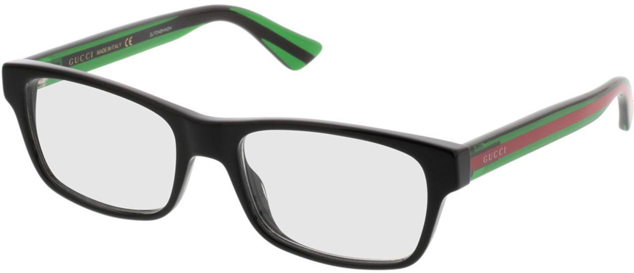 Picture of glasses model Gucci GG0006O-002 53-18 in angle 330