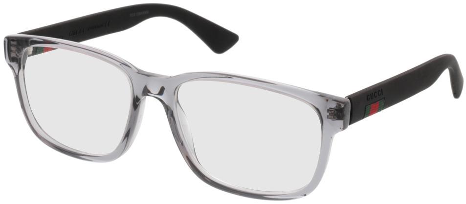 Picture of glasses model Gucci GG0011O 007 55 17 in angle 330