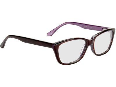Brille Farsund-dunkelrot/lila