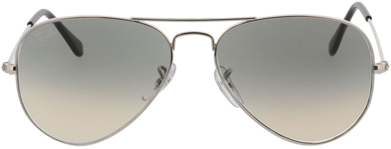 Picture of glasses model Ray-Ban Aviator Large Metal RB3025 003/32 55-14 in angle 0