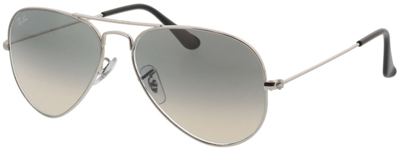 Picture of glasses model Ray-Ban Aviator Large Metal RB3025 003/32 55-14 in angle 330
