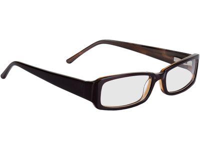 Brille Avellino-dunkelbraun