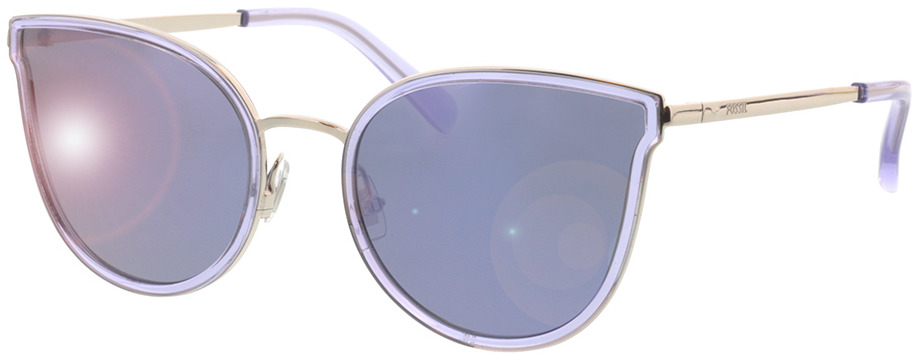 Picture of glasses model Fossil FOS 2087/S B6E 55-21 in angle 330