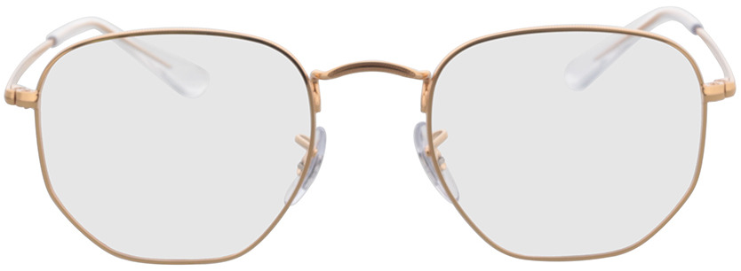 Picture of glasses model Ray-Ban Hexagonal RX6448 3094 51-21 in angle 0