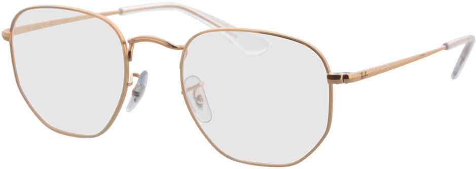 Picture of glasses model Ray-Ban Hexagonal RX6448 3094 51-21 in angle 330