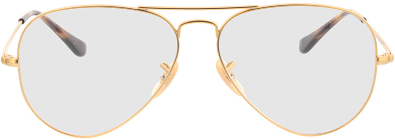 Picture of glasses model Ray-Ban RX6489 3033 58-14 in angle 0