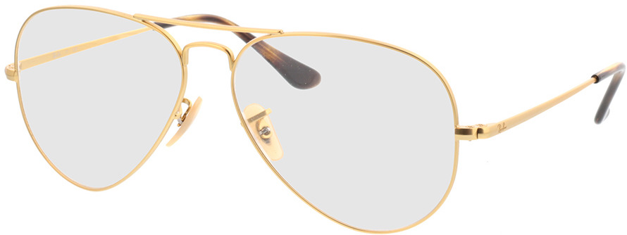 Picture of glasses model Ray-Ban RX6489 3033 58-14 in angle 330