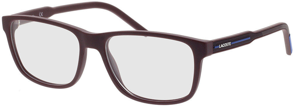 Picture of glasses model Lacoste L2866 604 56-16 in angle 330