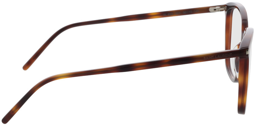 Picture of glasses model Saint Laurent SL 453-003 56-15 in angle 90