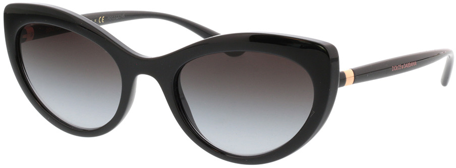 Picture of glasses model Dolce&Gabbana DG6124 501/8G 53-21 in angle 330