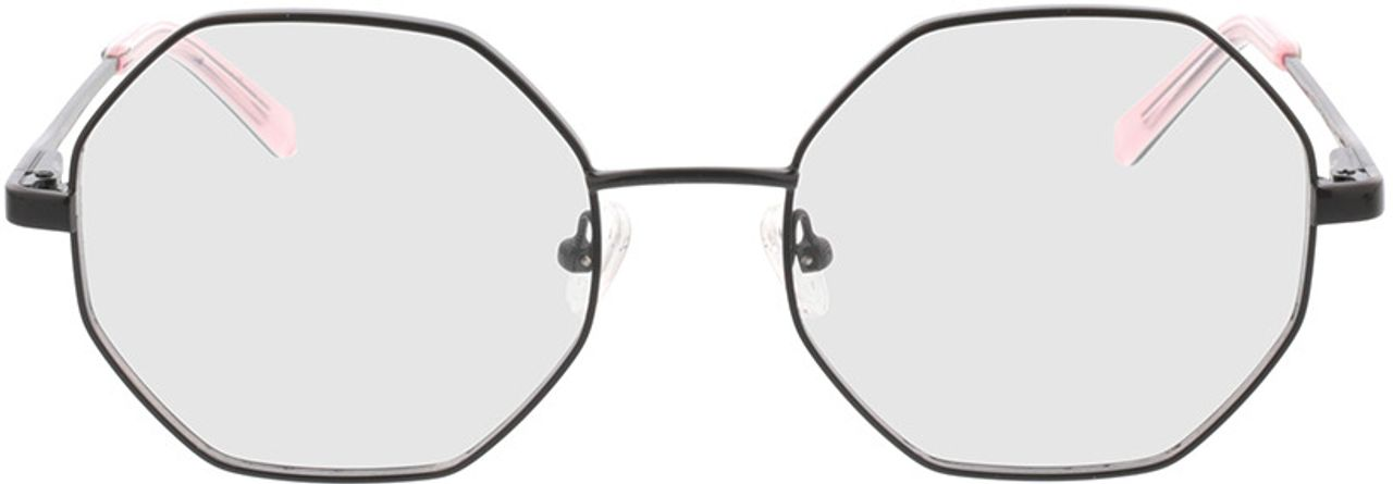Picture of glasses model Monti-schwarz in angle 0