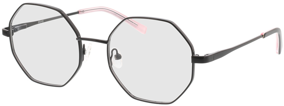 Picture of glasses model Monti-schwarz in angle 330