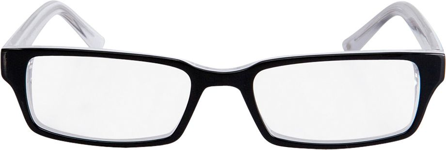 Picture of glasses model Capuno-schwarz/weiß in angle 0