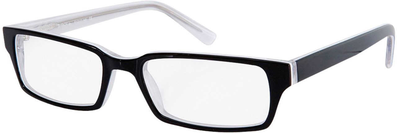 Picture of glasses model Capuno-schwarz/weiß in angle 330