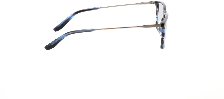 Picture of glasses model Bonum-blau horn in angle 90