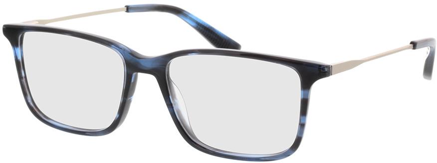 Picture of glasses model Bonum-blau horn in angle 330