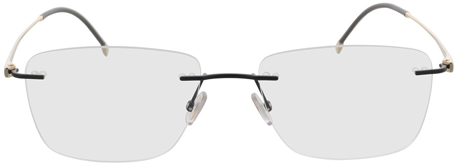 Picture of glasses model Boss BOSS 1266/A 003 57-18 in angle 0
