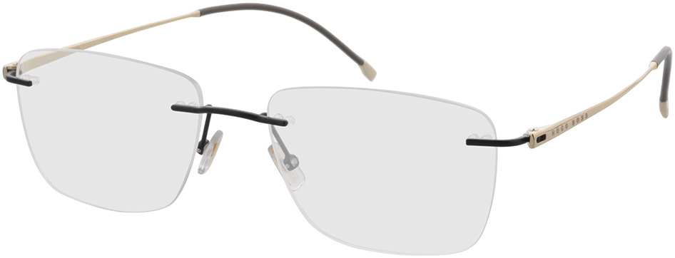 Picture of glasses model Boss BOSS 1266/A 003 57-18 in angle 330