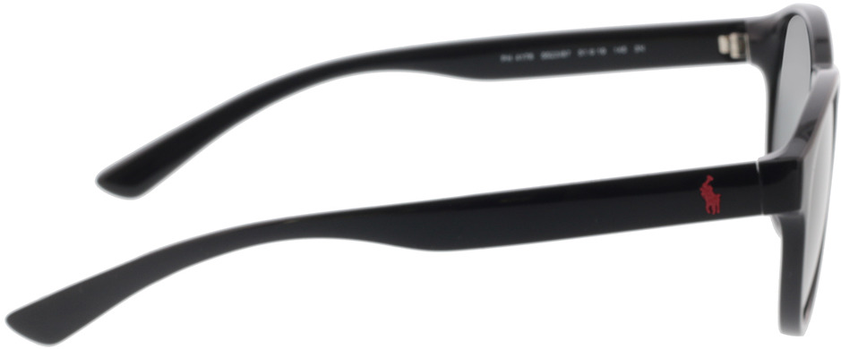 Picture of glasses model Polo Ralph Lauren PH4176 552387 51-19 in angle 90