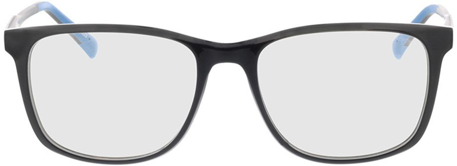 Picture of glasses model Graham-schwarz/grau in angle 0