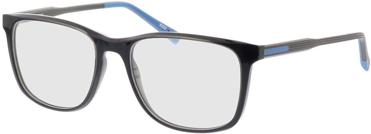 Picture of glasses model Graham-schwarz/grau in angle 330