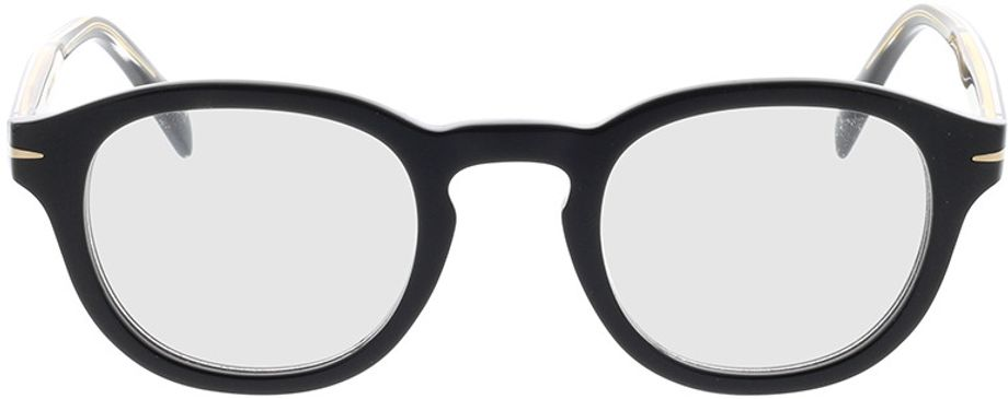 Picture of glasses model David Beckham DB 7017 807 46-24 in angle 0