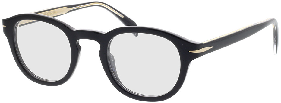 Picture of glasses model David Beckham DB 7017 807 46-24 in angle 330