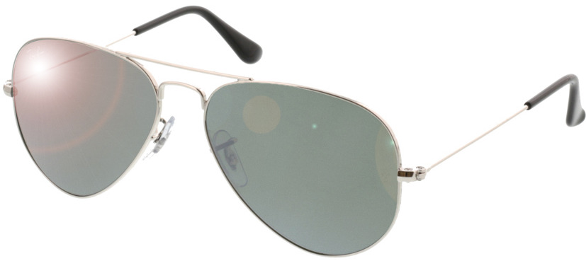 Picture of glasses model Ray-Ban Aviator Large Metal RB 3025 W3275 55-14