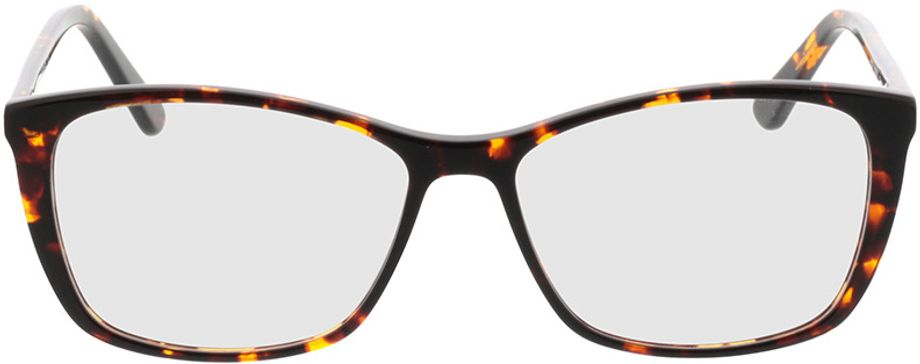 Picture of glasses model Modica-braun-meliert in angle 0