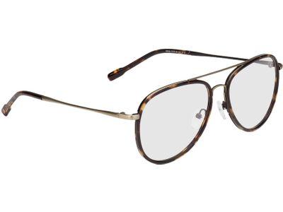 Brille Dubai-braun-meliert/gold