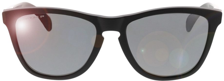 Picture of glasses model Oakley Frogskins OO9013 F7 55-17  in angle 0