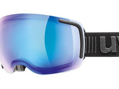 Brille Uvex Skibrille Big 40 VFM Black Matt/Blue Vario