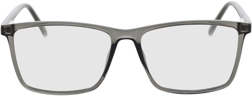 Picture of glasses model Nolba grey transparent in angle 0