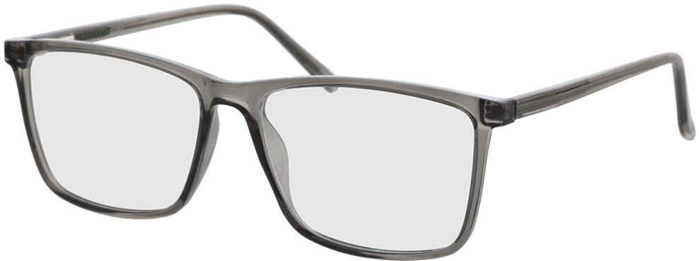 Picture of glasses model Nolba grey transparent in angle 330