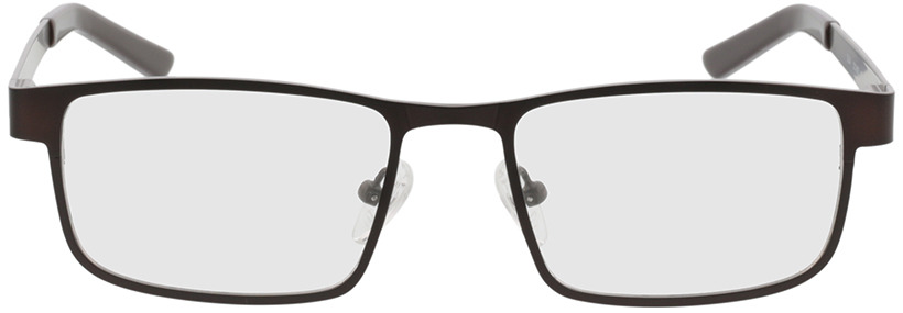 Picture of glasses model Bochum brown/gun in angle 0