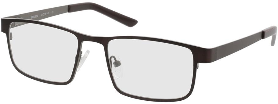 Picture of glasses model Bochum brown/gun in angle 330
