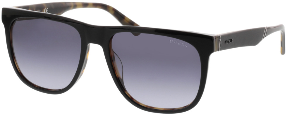 Picture of glasses model Guess GU6913 05B 56-17 in angle 330