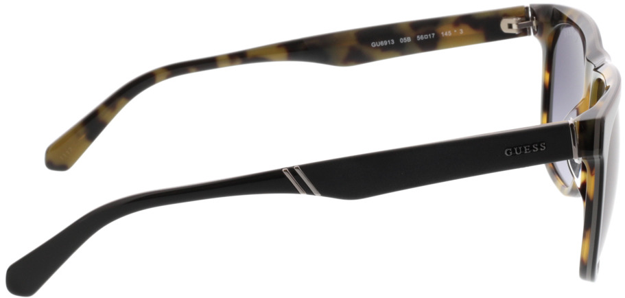 Picture of glasses model Guess GU6913 05B 56-17 in angle 90