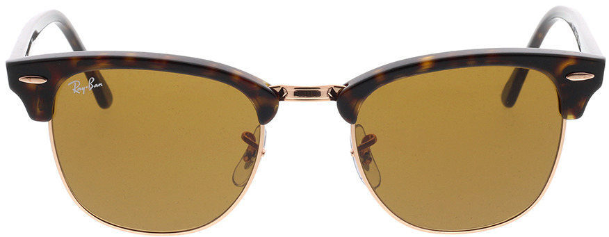 Picture of glasses model Ray-Ban Clubmaster RB3016 130933 51-21 in angle 0