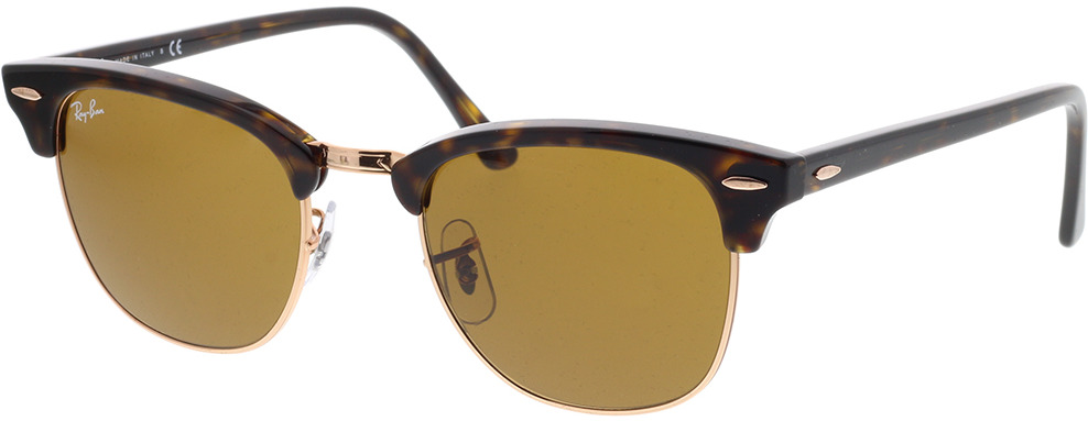 Picture of glasses model Ray-Ban Clubmaster RB3016 130933 51-21