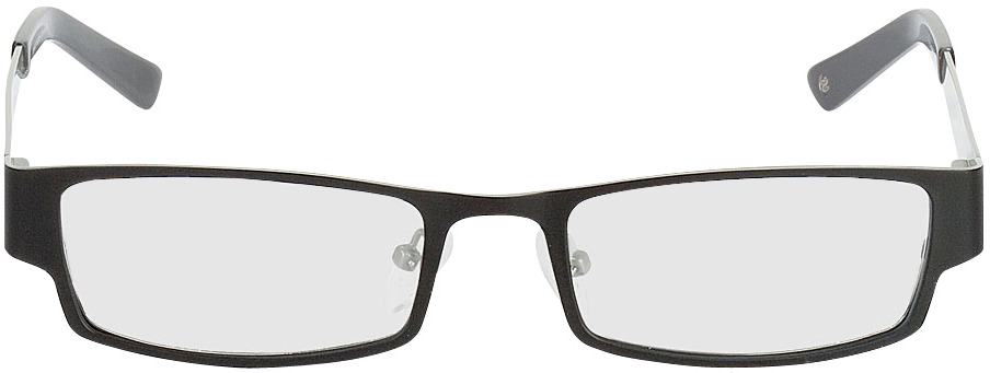 Picture of glasses model Mindelo-schwarz/grau in angle 0