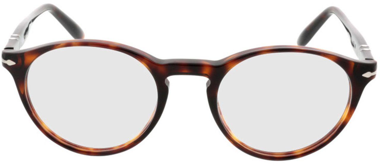 Picture of glasses model Persol PO3092V 9015 48-19 in angle 0