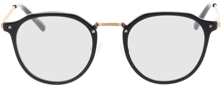 Picture of glasses model Juno-schwarz in angle 0