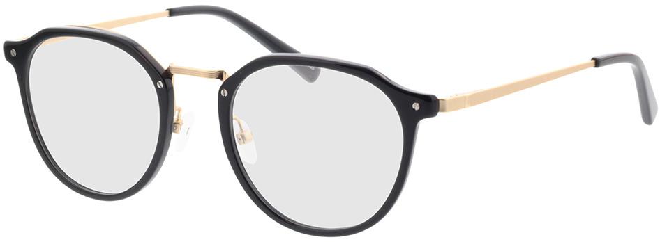 Picture of glasses model Juno-schwarz in angle 330