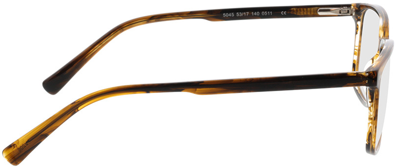 Picture of glasses model Pico-brun marbré in angle 90